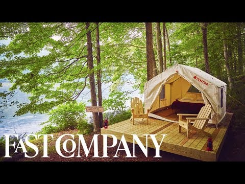 The Easiest Camping Experience You'll Ever Have   You Have To See This