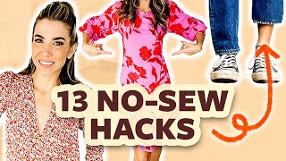 Easy DIY Clothing Alterątions (No Sew!)   DIY with Orly Shani