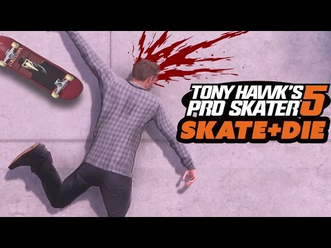 SKATE AND DIE - Tony Hawk's Pro Skater 5 Gameplay