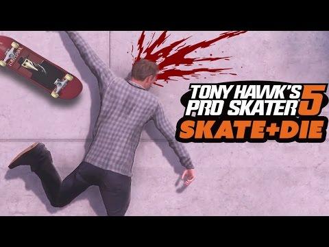 SKATE AND DIE - Tony Hawk's Pro Skater 5 Gameplay