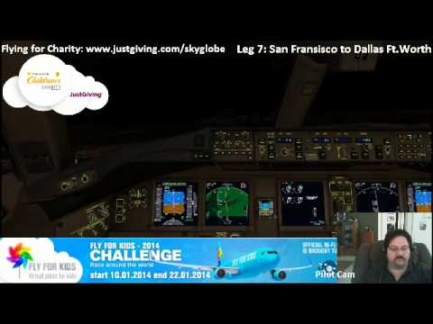 Fly for Kids - Flight around the World on Vatsim for Charity Leg 7 - After the BSOD