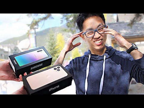 I Gave New Phones to Strangers... But Made Them Choose! – iP