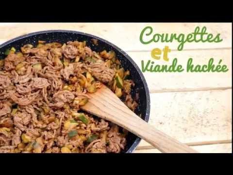 recette-rapide:-courgette-et-viande-hachée