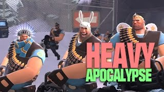 TF2 - Heavy's Apocalypse (11 Angry Heavy Attack)