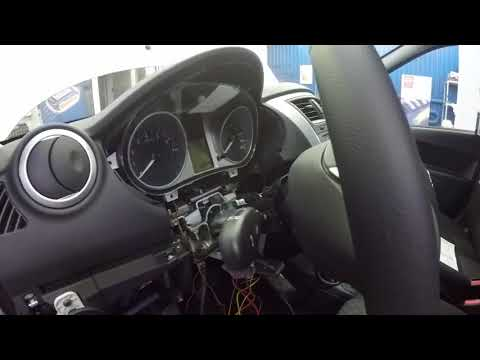 Avto-zapusk.ru Установка StarLine A94 на Datsun on-DO и программирование запуска без ключа (iKey).