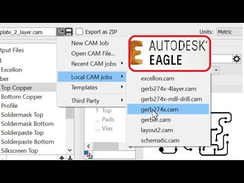 How To Generate Gerber And Drill Files From Autodesk Eagle As Fast As  Possible