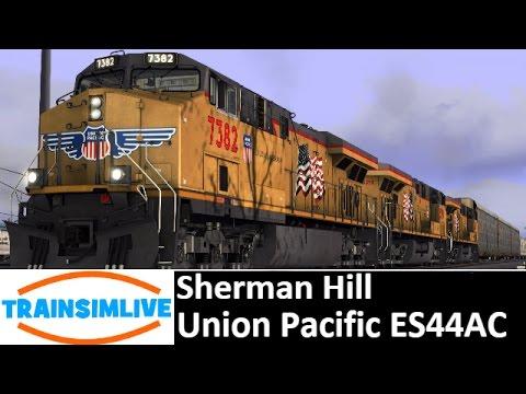 Let's Play Train Simulator 2016 - Sherman Hill, ES44AC UP
