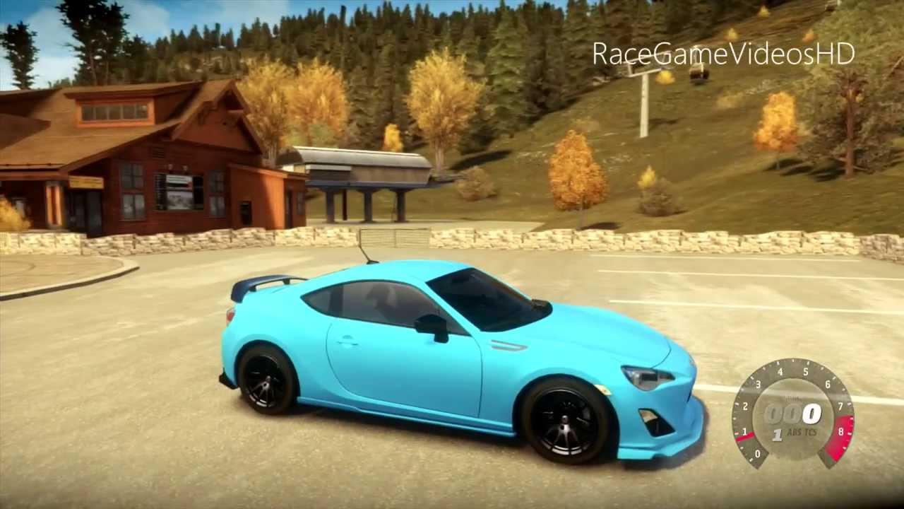 My Custom Subaru Brz Gameplay Forza Horizon 1080p Youtube