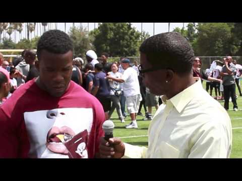 Ronnie Hillman-GraveDigga Football TV:Family Fun Day Camp June 15th, 2013