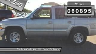 2005 Chevrolet Tahoe for sale in Dublin, CA - Dublin Chevrolet, Cadillac, Buick, GMC and K