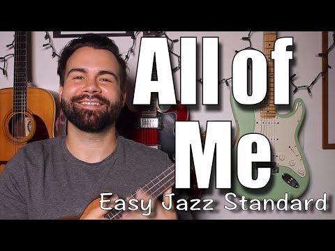 Frank Sinatra  - All of Me - Beginner Jazz Standard Ukulele Tutorial