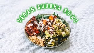 THE ULTIMATE VEGAN BUDDHA BOWL 😋🥑💚 Easy + Delicious Recipe!