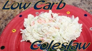 Atkins Diet Recipes: Low Carb Coleslaw (IF)