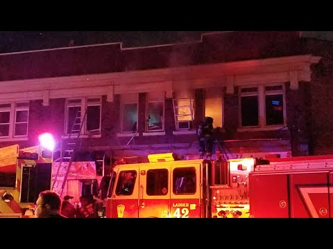 Irvington Nj Fd Barber Shop Fire Large Residential/Commercial (Lyons Ave) W/FD Audio 4-2-18