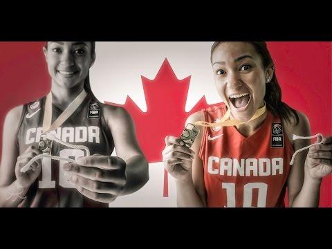 Hailey Brown U16 FIBA Americas Champion 2015