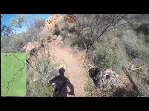 Perentie to Warrigal Mountain Bike Trail - Alice Springs
