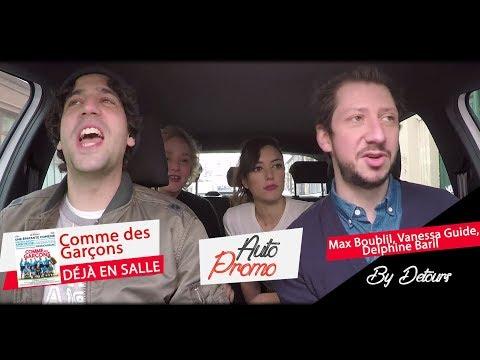 Auto 35 : 3 minutes avec Max Boublil, Vanessa Guide et Delphine Baril  Détours
