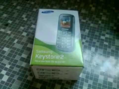 Samsung Keystone2 GT-E1205T - Unboxing