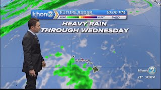 Justin Cruz's Weather Forecast 1-18-21