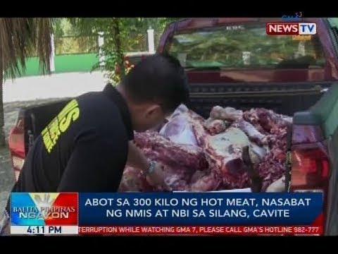 BP: Abot Sa 300 Kilo Ng Hot Meat, Nasabat Ng NMIS At NBI Sa Silang, Cavite