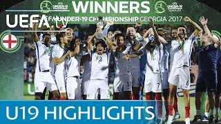 Highlights: See how England claimed U19 crown