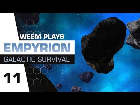 Empyrion Galactic Survival Gameplay - Asteroid Mining - Ep 11