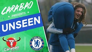 Caballero Saves Zola's Penalty! Ampadu's Antics, Hilarious Goalkeeper Drill | Chelsea Unseen