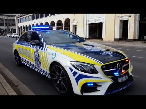 *Rare* Police vehicles Rep. all Australian Police forces in Canberra