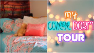 My College Dorm Tour | Chanell Heeter