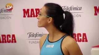 Homenaje a Teresa Perales, Premio Marca Leyenda