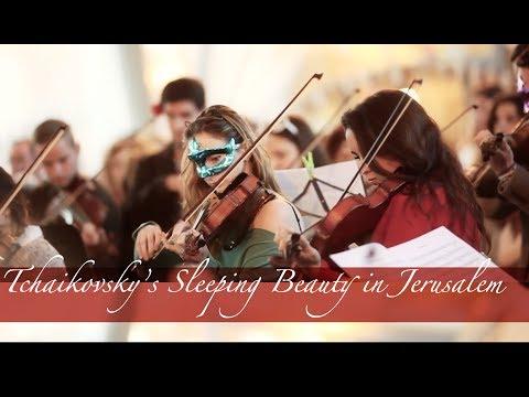 Tchaikovsky's Sleeping Beauty Flash Mob in Jerusalem