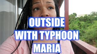 TYPHOON MARIA HITTING JAPAN! OUTSIDE WITH TYPHOON MARIA   JULY 10, 2018 WHITAKERSWAYVLOGS