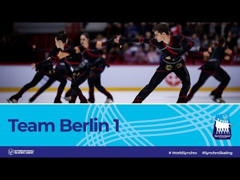 Team Berlin 1 (GER) | Helsinki 2019 | #WorldSynchro