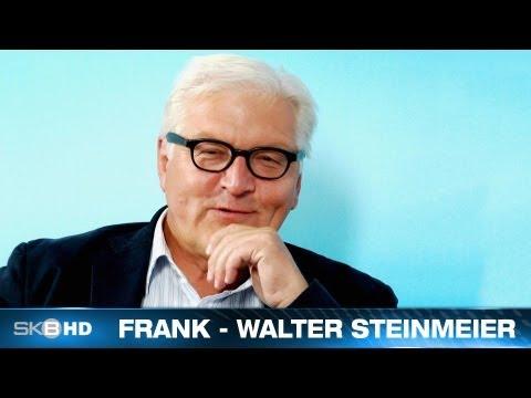 2013   FRANK WALTER STEINMEIER IM TV INTERVIEW