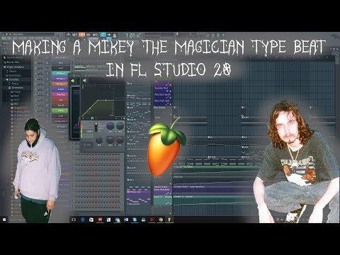 Making  A Beat Like Mikey The Magician For Pouya in Fl Studio 20(mac)