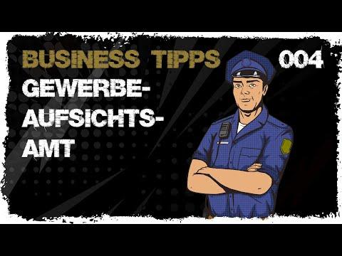 business tipps #004: Gewerbeaufsichtsamt zu Besuch im Lager - Oh Oh Oh
