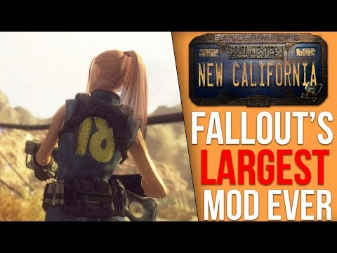 Fallout: New California is Finally Here; A first look at one of Fallout's Largest Mods Ever