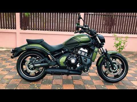 2019 Kawasaki Vulcan S Green Matte