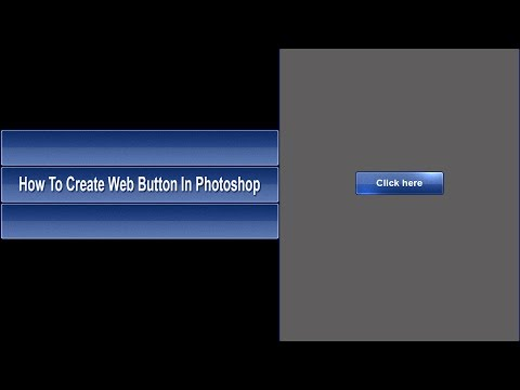 How To Create Web Button In Photoshop
