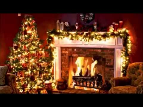 Peaceful Christmas Fireplace with Christmas Music - YouTube