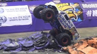 Roy Pridgeon, the ICE CREAM MAN®,Monster Jam 2/28/15, Macon, GA
