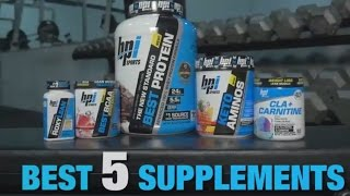 Top 5 Supplements to Burn Fat for Fuel