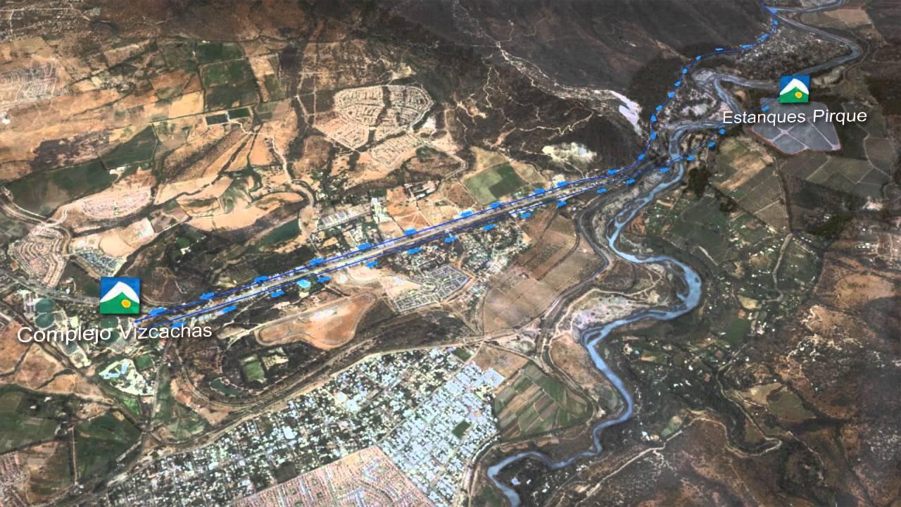 Estanques de reserva pirque de aguas andinas producido for Estanques para agua potable