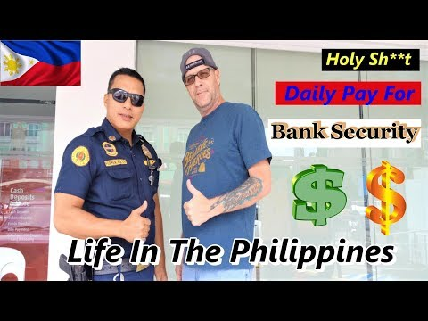 THE AVERAGE PAY OF A BANK SECURITY GUARD IN THE PHILIPPINES from YouTube · Duration:  19 minutes 44 seconds