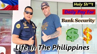 THE AVERAGE PAY OF A BANK SECURITY GUARD IN THE PHILIPPINES