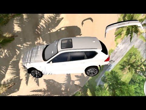 BeamNG Slow Motion!! - Throwing Cars Around