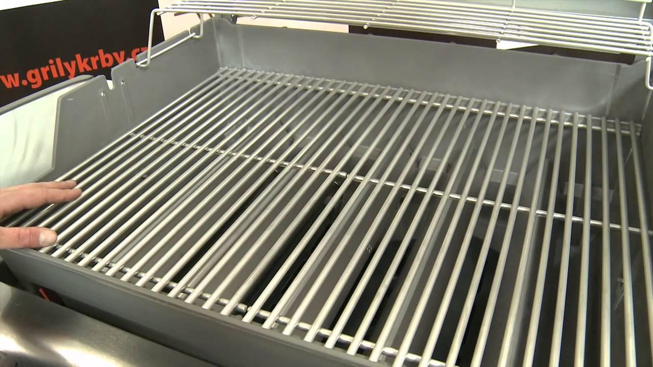 gril weber genesis s 330 nerez youtube. Black Bedroom Furniture Sets. Home Design Ideas