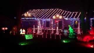 Mr Christmas lights and sound best so far 2013 Video
