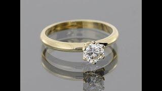 Золотое кольцо с бриллиантом(, 2013-10-11T04:46:32.000Z)