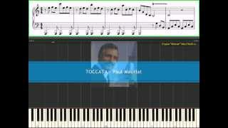 Toccata - Paul Mauriat (Ноты, Видеоурок для фортепиано) (Piano tutorial)